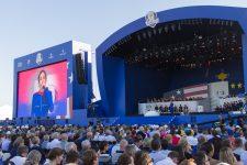 Ryder cup: Jain et la patrouille de France ont enflammé la cérémonie d'ouverture