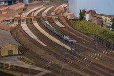 Un réseau de petits trains de «50 mètres de décors»