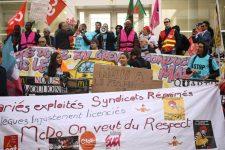 Les salariés de McDonald's convergent de toute la France pour faire valoir leurs droits