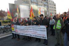La CGT mobilisée contre les suppressions de postes sur la ligne N