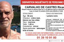 Appel à témoins: un homme de 60 ans disparu à Saint-Germain-en-Laye