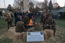 14-18 : le parc de Diane a accueilli un camp militaire
