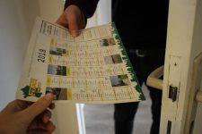 De faux calendriers distribués par des voleurs: la police appelle à la vigilance