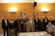 Municipales: le candidat Didier Fischer présente son équipe