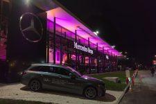 Une concession Mercedes a ouvert le long de la RN 10