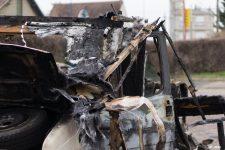 De nombreux véhicules détruits la nuit du nouvel an