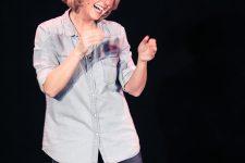 Véronique Gallo, une maman hilarante au Scarabée
