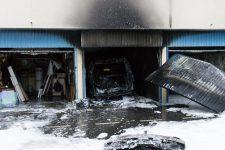 Explosion dans un garage: «On a entendu trois déflagrations»