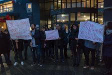 Des enseignants occupent le lycée Villaroy contre la loi Blanquer