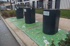 Des poubelles décorées pour limiter les dépôts sauvages