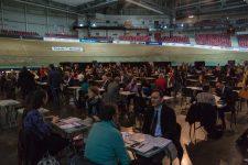 Plus de 5 500 offres d'emploi étaient à pourvoir au Vélodrome