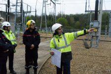 Les pompiers en visite chez Enedis pour se prémunir des risques électriques