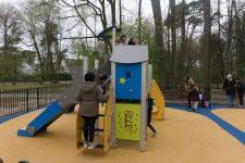 La Ville inaugure une nouvelle aire de jeux