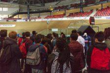 150 collégiens d'Île-de-France ont visité le Vélodrome national
