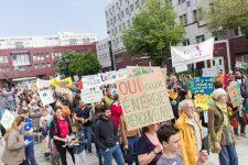 Première marche  pour le climat à SQY