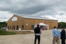 Une ferme municipale à quelques mètres du centre-bourg