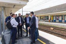 Les travaux de la gare de Trappes doivent finir courant juillet