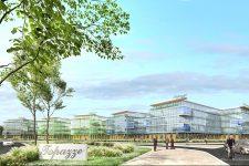 Un important projet immobilier d'entreprises près de Bouygues Challenger