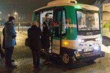 La navette autonome va être expérimentée dans les rues de SQY