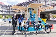 Les vélos électriques Véligo entrent en action