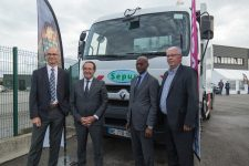 Sepur envoie 12 camions-poubelles vers l'Afrique