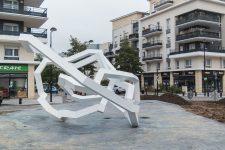 La municipalité s'indigne de la dégradation d'une sculpture