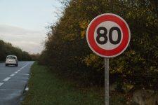 Le Département juge impossible le retour à 90 km/h