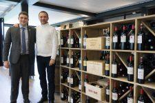 Le restaurant Les Templiers s'associe au Coin du sommelier pour installer une cave à vins