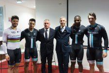 Deux jeunes pistards de l'équipe de France rejoignent  le VCESQY-team Voussert