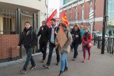 Mobilisation à l'UVSQ contre la précarité étudiante et la réforme des retraites