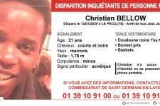 Appel à témoins: Christian Bellow a disparu depuis une semaine