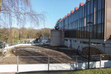 Les travaux ont débuté pour les deux nouvelles salles d'arts martiaux
