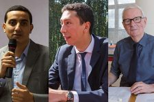 Municipales 2020 : Ali Rabeh devant Othman Nasrou et Guy Malandain