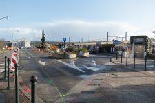 Début des travaux pour le futur parvis de la gare de Villepreux-Les Clayes