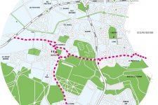 Deux nouvelles voies cyclables vont traverser la ville
