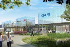 À Pariwest, début du réaménagement du secteur du magasin Kiabi