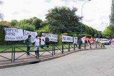 Manifestation: Le personnel de santé à la recherche de reconnaissance