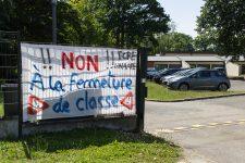 Pétition contre une fermeture de classe à l'école maternelle Parc du château