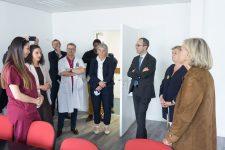 Valérie Pécresse a rendu visite aux professionnels de la maison de santé
