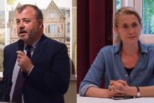 Élection législative: Philippe Benassaya face à Sandrine Grandgambe au deuxième tour