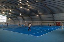 Le tennis club flambant neuf a rouvert