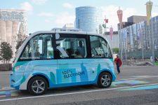 Des navettes autonomes vont circuler aux abords de la gare de SQY