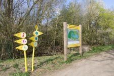 Un itinéraire cyclable va être aménagé à l'intérieur de l'Île de loisirs