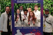 Belle moisson de médailles pour Trappes aux championnats d'Europe de taekwondo