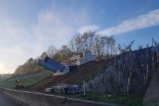 La passerelle du bois de la Cranne devrait être mise en service début 2021