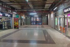 La passerelle entre Auchan et Mon grand Plaisir est toujours fermée