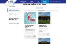 L'Agglomération lance une nouvelle page culturelle en ligne