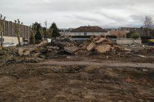 L'ancienne halle du marché a été démolie