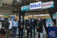 Déjà plus de 60 000 vaccinés  au Vélodrome