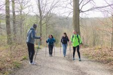 La marche nordique pour favoriser l'intégration des personnes handicapées